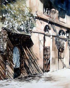 Paul DmochHahnemühle Les ombres - Aquarelle  William Turner 300 g/m² - 100% coton - grain fin - 65 x 50