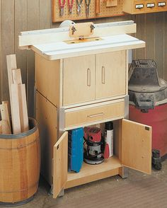 Ultimate Router Table Woodworking Plan