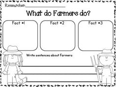 Farm and Farm Animals Research Writing Unit w/ Literacy and math activities. Animals: chickens, cows, horses, pigs, goats, and sheep.