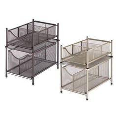 .ORG Under the Sink Mesh Slide-Out Cabinet Drawer - Bed Bath & Beyond