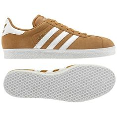 Adidas Gazelle 2.0 Shoes in Wheat/Running White. #copthat #sneakers #gymshoes
