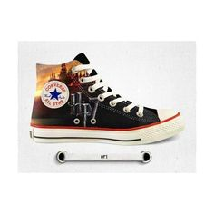 Converse Harry Potter converse ❤ liked on Polyvore featuring harry potter, shoes and converse