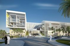 The Sheikh Khalifa Medical City will begin construction next year and will provide advanced medical care for Abu Dhabi along with sustainable design and a welcoming space for patients and visitors.