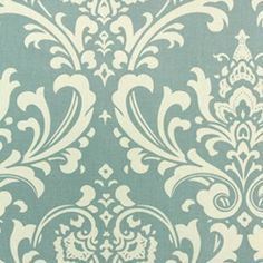 Ozborne Village Blue/Natural by Premier Prints - Drapery Fabric - Fabric By The Yard