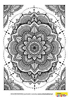 Kolorowanki Dla Doroslych Mandala