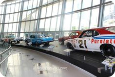 NASCAR Hall of Fame - Charlotte, NC. I despise watching a NASCAR race, but this is definitely worth the trip.