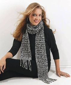 Ravelry: Fashion Scarf pattern by Marilyn Coleman