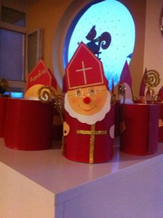 Diy For Kids, Crafts For Kids, Diy Crafts, St Nicholas Day, All Saints Day, Theme Noel, Craft Materials, Preschool Crafts, Christmas Crafts