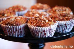 Søte, varmende eplemuffins med honning er perfekte på vinteren. Kanel og mandler bidrar også til den gode smaken. Oppskriften gir 12 myke muffins.