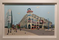 Buy Manchester Printworks Dylan Izaak Limited Edition Print FREE UK Delivery from Hepplestone Fine Art, UK 'Retail Art Gallery of the Year Uk Retail, Cityscape Art, Hallway Ideas, Limited Edition Prints, Manchester, Art Gallery, Fine Art, Architecture, Arquitetura