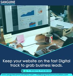 Our Team always keeps you on #Digital fast track so that you generate more #Leads for your #Business Schedule a free consultation with us at 91-9873401918 or 97152-304-3225 #Digitalfasttrack #PositiveLinks #DigitalMarketing
