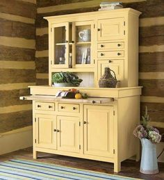 Southern Pine furniture is made in the USA. Fine quality furniture built to last for generations. Antique Kitchen Cabinets, Kitchen Cupboards, New Kitchen, Antique Hoosier Cabinet, Kitchen Rug, Kitchen Storage, Free Standing Kitchen Cabinets, Pan Storage, Soapstone Kitchen