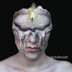 "Ana (@cedoviste) on Instagram: "" #crazymakeup #amazingmakeupart #makeupjunkie #5fingerssfx #dupemag #illusionmakeup #illusionart…"""