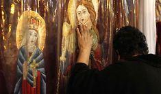 rugăciunea Sfintei Irina Painting, Painting Art, Paintings, Painted Canvas, Drawings