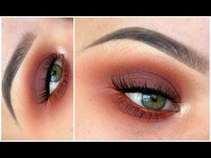 Warm Smokey Eye ft. ABH Modern Renaissance Palette   MakeupwithJah - YouTube