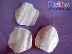 Como Fazer Patch Aplique Cookie Cutters, Patches, Hand Stitching, Make Your Own Clothes, Appliques, Needlepoint, Flowers