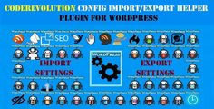 CodeRevolution Configuration Import/Export Helper Plugin for WordPress . CodeRevolution has features such as Compatible Browsers: IE6, IE7, IE8, IE9, IE10, IE11, Firefox, Safari, Opera, Chrome, Edge, Software Version: WordPress 4.8.x, WordPress 4.7.x, WordPress 4.6.1, WordPress 4.6, WordPress 4.5.x, WordPress 4.5.2, WordPress 4.5.1, WordPress 4.5, WordPress 4.4.2, WordPress 4.4.1, WordPress 4.4, WordPress 4.3.1, WordPress 4.3, WordPress 4.2, WordPress 4.1, WordPress 4.0, WordPress 3.9…