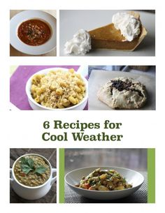 6 Recipes for Cool Weather #fitfluential #recipes #vegan