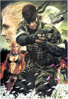 MGS3 Snake Eater by ~vellonce