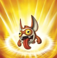"""Trigger Snappy was one of the four special """"sidekick"""" characters released by Activision through their first promotion with Frito-Lay. Skylanders Characters, Skylanders Spyro, Skylanders Party, Pikachu, Pokemon, Baby Apps, Trigger Happy, All Games, Christmas 2015"""