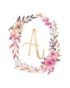 Today we have something really special for you, FREE Printable Glitter & Glam Monogram Art Prints.  They are perfect for so many thing!  The come in 5X7 & 8×10 size but they can be resized so you can