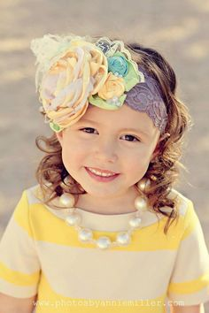 Cute headband for little ones.