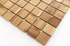 Für lebendige Flächen: Bambus- mosaike von KUL Bamboo