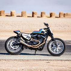 A Sportster with more power, trick suspension and XR750-inspired bodywork? Let's get dirty.