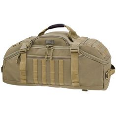 Maxpedition Doppelduffel Adventure Bag, Khaki Main compartment: x x with two padded dividers. Frontal/top compartment: x x Internal pockets: x x (two). Side slip pockets: x (two). Shoulder Backpack, Backpack Straps, Crossbody Shoulder Bag, Travel Luggage, Travel Bags, Hunting Supplies, Hunting Bags, Molle Pouches, Tactical Bag