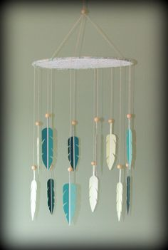 Dream Catcher Mobile - paint swatch mobile