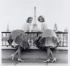 I love these belles and the bells of their skirts.  (Stolen from my pal Donna Trussell).