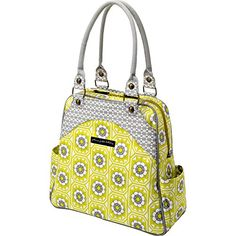 Petunia Pickle Bottom Sashay Satchel Handbag, Succulent Garden