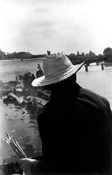 1971-2004 France - Ralph Gibson Ralph Gibson, Robert Frank, Taking Pictures, American Art, Black And White Photography, Travel Style, Panama Hat, Street Photography, To Go