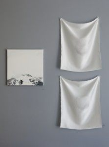 Eungyung Kim at the WHITE  exhibition| Lokal Helsinki