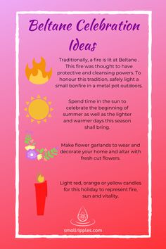 Beltane is an ancient Celtic festival that marked the opening of summer at the beginning of May. Find out more about its traditions and customs. Green Witchcraft, Wicca Witchcraft, Wiccan Sabbats, Paganism, Tarot, Solar System Crafts, Celtic Festival, Season Of The Witch, Moon Magic