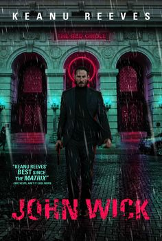 John Wick: Chapter 2 is an action film. It stars Keanu Reeves, Common, Laurence Fishburn. Action Movie Poster, Movie Poster Art, Film Posters, Great Films, Good Movies, Best Action Movies, John Wick 2014, John Wick Movie, Keanu Reeves John Wick