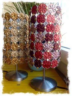 Used Nespresso Capsules Into Lamps