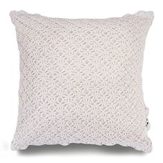 This basic crochet pillow pattern is the easiest ever! All you need to know are a chain stitch and a single crochet - that's it.  Easy peasy, lemon squeezy.