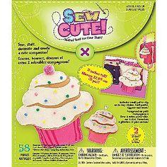 Westrim Sew Cute Cupcake Craft Box Kit