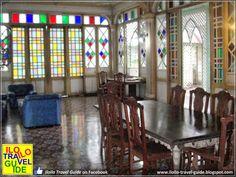 Iloilo Ancestral Houses: The Sanson y Montinola Antillan House in Jaro Philippine Architecture, Philippine Houses, Filipino Culture, Antique House, House Interiors, Stained Glass Windows, Manila, Philippines, Art Nouveau