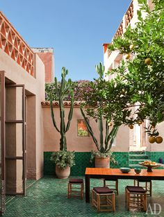 Дом декоратора в Марокко