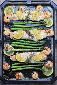 サーモンのオーブン焼き 〜 このレシピは糖質制限ダイエットにピッタリ!