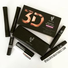 #JulyBeautyChallenge - Day TwentySix - Mascara Stash - I'm a huge fan of Younique's new 3D Fibre Lash Mascara+ so this is my go-to product everyday but I also have their Original 3D Fibre Lash Mascara, Clinique's High Impact and Lengthening Mascaras and a mini Diorshow Mascara in my make up bag! #TheBeautyAddict
