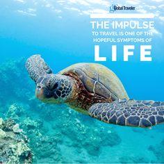 """The impulse to travel is one of the hopeful symptoms of life."" - Agnes Repplier   Idreamphotos | Dreamstime.com  #travel #globility #destination #sea #wanderlust #tourism #globetrotting #live #global"