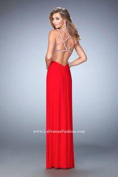 ee92eef24728 22384  LaFemme  prom  prom2016  njprom Designer Prom Dresses