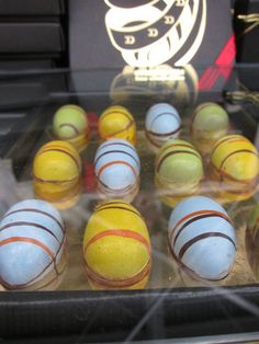 Marc Demarquette Chocolate Easter egg at the Chocolate Festival in London @DemarquetteChoc