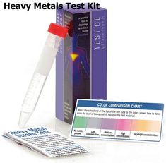 Do you have toxic levels of metals in your body? This heavy metals test is the world's first immediate method of screening heavy metals.