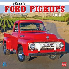 Classic Ford Pickups 2013 Wall Calendar: A Ford pick up truck will create memories throughout time, but the Ford Classic Pick Up Truck already has memories of it's own. Sink back into your seats and back in time with this classic wall calendar.  http://www.calendars.com/Trucks-and-4WD/Classic-Ford-Pickups-2013-Wall-Calendar/prod201300005178/?categoryId=cat70004=cat70004#