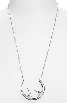 Elizabeth and James 'Antler' Large Open Pendant Necklace available at Nordstrom