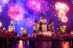 Roter Platz in Moskau Silvester (Top 10)